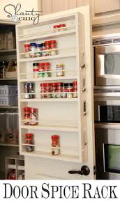 Kitchen Pantry Door Organizer Interior Pantry Door Shelf Organizer With Storage Pantry For