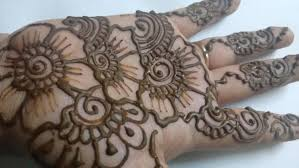 Simple Mehndi Design For Hands Festival Special 2015 Easy Henna