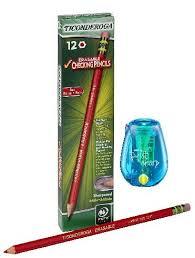 Red Checking Dixon Ticonderoga Erasable Checking Pencils Eraser Tipped