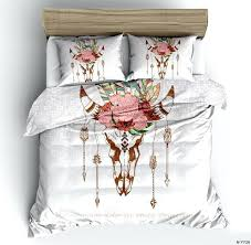 watercolor bedding hipster watercolor bedding set twin full queen king size feathers duvet cover bohemian printed