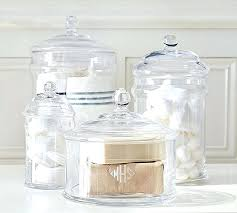 glass bathroom containers decorative bathroom glass containers glass bathroom containers