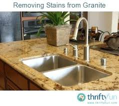 cleaning granite stains clean water stains granite countertops granite cleaner hard water stains