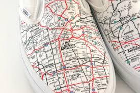 vans shoes drawing. california la map shoes vans drawing