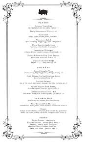 Autumn Dinner Menus Pub Kitchen Fall Dinner Menu Philadelphia Magazine