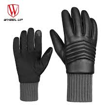 <b>WHEEL UP Winter Thermal</b> Cycling Gloves Windproof Screen ...