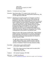 Cover Letter For Correctional Officer Prison Ficer Cover Letter No