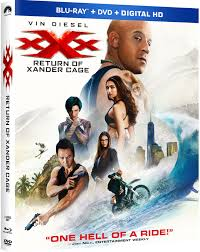 XXX The Return Of Xander Cage Blu ray DVD Digital Copy.