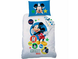 disney mickey mouse expressions duvet cover single 140 x 200 cm multi