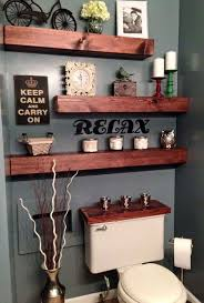 diy bathroom decor pinterest. Just 2 Darker Shelves \u0026 No Wooden Tank Lid. - 22 Ways To Boost And Refresh Your Bathroom By Adding Wood Accents Diy Decor Pinterest S