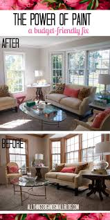 To Paint Living Room The Power Of Paint Living Room Before And After