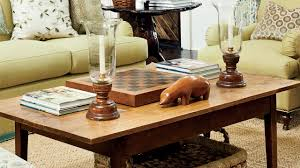 For Decorating A Coffee Table Coffee Table Decorating Tips Southern Living Youtube