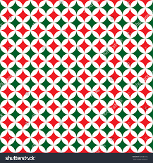 Christmas Pattern Background Cool Seamless Christmas Pattern Background Red Green Stock Vector