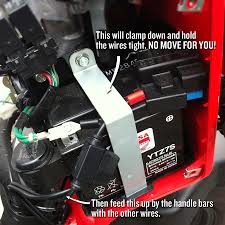 connecting a battery tender to a honda ruckus dadand com honda ruckus battery tender