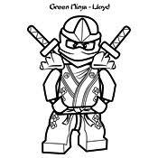 Kleurplaat Lego Ninjago Masters Of Spinjitzu 4091