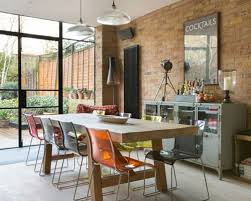 dining room lighting ideas pictures. Delighful Room Inspiration For An Eclectic Dining Room In London With Orange Walls Light  Hardwood Flooring And Intended Dining Room Lighting Ideas Pictures