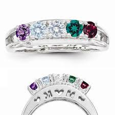 infinity mothers ring. sterling silver mom birthstone ring 1-5 stones, mother\u0027s family jewelry infinity mothers