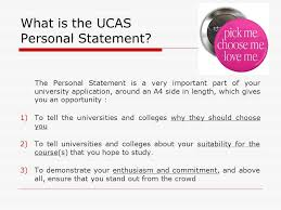 Personal Statement Template Ucas Writing The Ucas Personal Statement Ppt Video Online Download