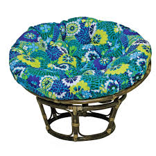 Papasan Cushionair Tar Pier e Cushions Loveseat Outdoor For