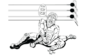 Wwe Coloring Pages 2018 2017 John Cena Books In Sheet Ash Campaign