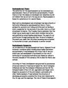 behaviorism essay gcse psychology marked by teachers com psychoanalytical theory