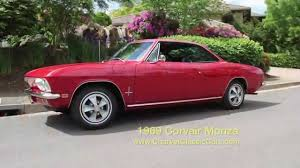 1969 Corvair Monza - 8,600 miles. - YouTube
