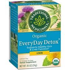 Traditional Medicinals <b>Organic EveryDay Detox</b> Lemon Herbal <b>Tea</b> ...