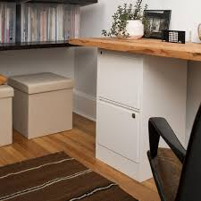 office desk with filing cabinet. Desk \u0026 Workstation Office White With File Cabinet Locking Drawers Filing T