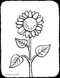 Bloem En Plant Kleurprenten Pagina 3 Van 4 Kiddicolour