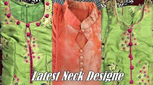 Punjabi Suit Gale Design Beautiful Neck Design Patterns For Suit Simple Stylish Neck Design For Kameez Kurti Suit
