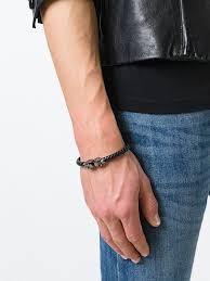 Northskull <b>Braided Skull</b> Bracelet Ss20 | Farfetch.com