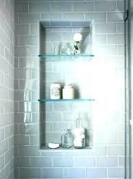 recessed shower shelves showers inspirational installing