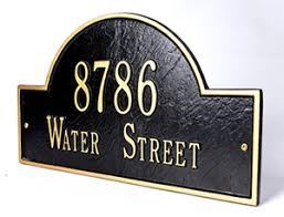 Decorative Address Signs Custom Residential Signs Decorative Signs Personalized Bar Sign 2
