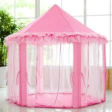 Amazon.com: SkyeyArc Princess Playhouse With Lace, Pink Tent, Princess  Castle Play Tent, Castle Playhouse, Kids Tents, Great Christmas Gifts For  Kids: Toys ...