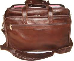 pe 17 inch 100 genuine leather laptop messenger bag