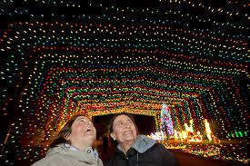 Vasona Holiday Lights Vasona Fantasy Of Lights A Holiday Bright East Bay Times