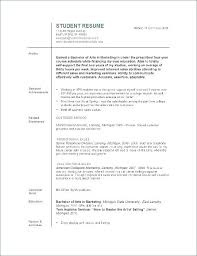 Resumes Templates For College Students Amazing Resume Template For A College Student Admissions Resume Examples