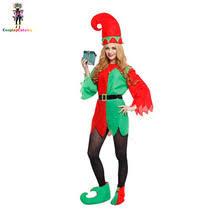 VinTopmaxi Helper Sexy Naughty Elf Costumes For Adult Women Santau0027s Envy  Dress