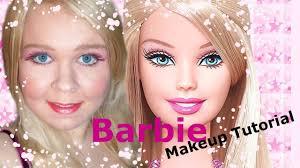 the barbie doll makeup tutorial or blonde