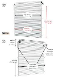 full image for gliderol roller garage door ordering measurementssingle width south africa dimensions rough opening