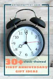 clock anniversary gift clock anniversary gifts first wedding anniversary gift clock