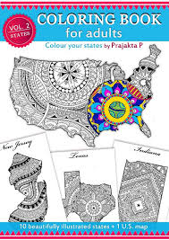 coloring book color your states this coloring book features 10 diffe states of united states along with a coloring page of the us map
