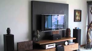 How To Decorate Around Your Flat Screen Television Hd Youtube