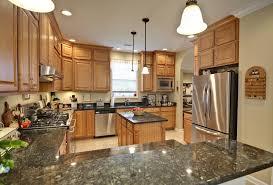 image of pretty maple kitchen cabinets