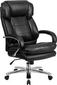 quick view husky office samson series big tall 24 7 500 lb black leather executive