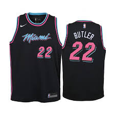 Newly-released Black Miami 2019-20 Jimmy Jersey City Butler Heat 22