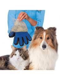<b>Перчатка</b>-щетка для домашних животных для счесывания ...