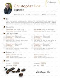 Starbucks Barista Job Description For Resume Baristas And Cafe Workers Resume Resume Template 30