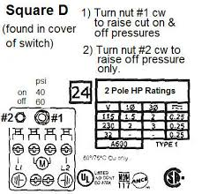 wiring help on pumptrol pressure switch doityourself Square D Pressure Switch Wiring Diagram water well pressure switch adjustment pictures to pin on pinterest, wiring diagram square d water pressure switch wiring diagram