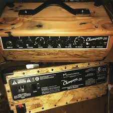 my diy project little head fender champion custom box from pallet waferboard