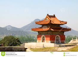 Chinese ancient architecture in the Eastern Royal Tombs of the Q